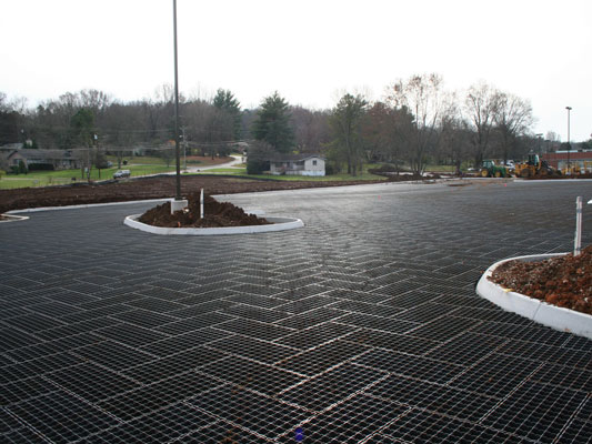 Geoblock | Permeable Pavement