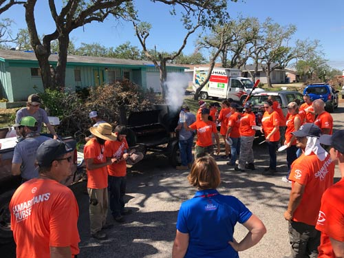 Geosolutions Community Outreach For Harvey Devastation