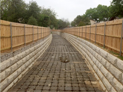 Stream Bank Stabilization Channel Design