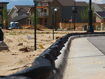Enviro Ridge Ditch Barrier Innovation Swppp