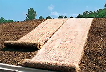materials highway control nilex erosion geotextile mats matting products blankets main