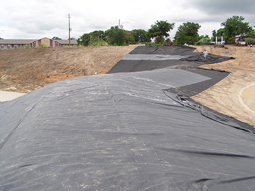 Geomembranes liners engineered solutions for Epdm pond liner