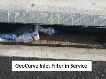 Geocurve Inlet Filter Swppp Construction